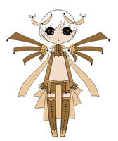 (Closed) Point Adoptables: Bronze Angel by Shiromei