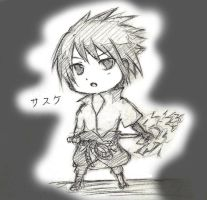 chibi sasuke by winter-monsoon