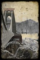Clifton Suspension bridge by katmary