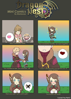 Dragon Nest Mini Comics: I Loved You Part 2 by Merlewae