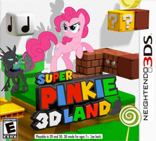 Super Pinkie 3D Land by nickyv917