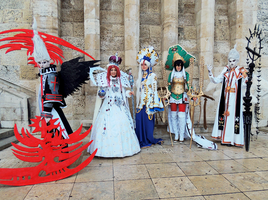 Trinity Blood Hungarian Team by kanamecosplay