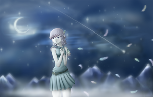 Moon Feather by sacul097