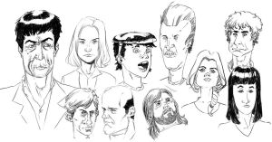 TV sketches by feeesh