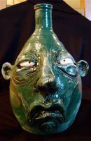 green face jug by thebigduluth