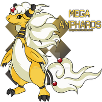 Mega Ampharos by Judaime