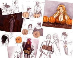 Bleach and Pumpkins by V3rc4