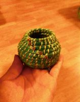 First Try Pine Needle Basket by Arboris-Silvestre
