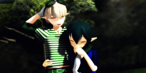 _MMD_ Time together by xXHIMRXx