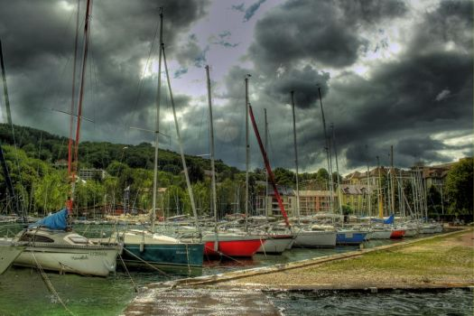 Annecy Boats by nemesis-fk