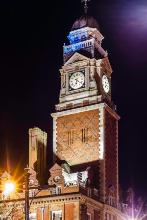 Leicester Town Hall Clock Tower by stefandavis1