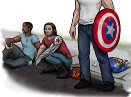 Team Cap snack break by Snowboardleopard