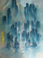 chinese traditional art  No.3 by nadav613