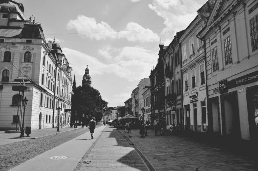 streets of Kosice p.2 by amongthepine