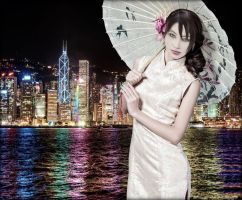 A Night In China (Ada Wong) by cyber-rayne