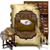 Secret Garden Mail Library PNG Library by TheAngeldove