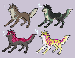 Wolf Adopts by AnnieHyena