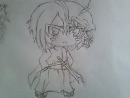 Chibi Ulquiorra by linkfangirltpoot