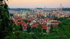 Prague rooftops by annamnt