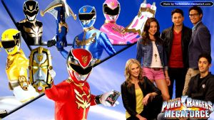 Power Rangers Megaforce by YorkeMaster
