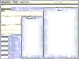 Universal Fighter's Application by danceswithzerg