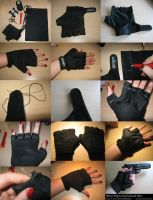 WIP Tombraider Gloves by LadyRafira