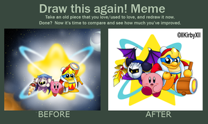Draw this again Meme 2 by llKirbyXll
