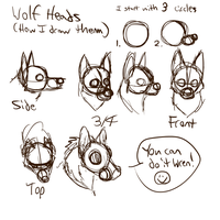 Wolf Head Structure by Falcolf