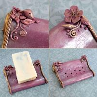 Roman Garden Soap Dish by popnicute