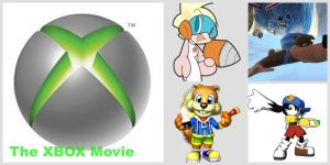 The XBOX movie Collage/Wallpaper by Tommypezmaster