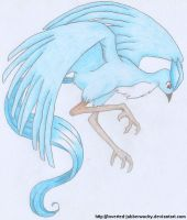 Articuno by Inverted-Jabberwocky