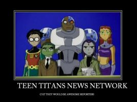 Teen Titans News Network by AbbyGaby005