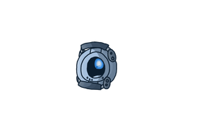 Oh hi, Wheatley by x--Bluefire--x
