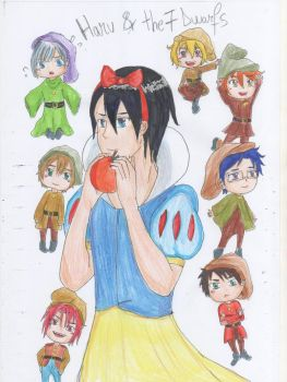 Disney FREE! ~ HARU AND THE SEVEN DWARFS by AyumiTheSmilingFox