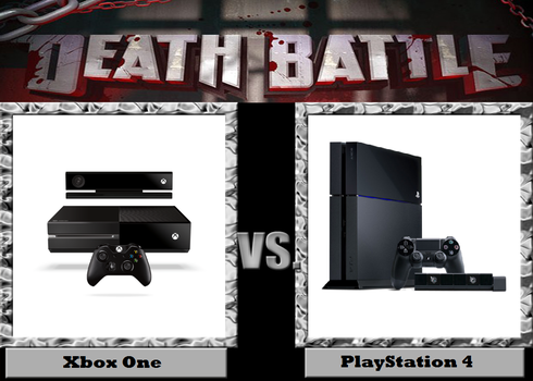 Death Battle Xbox One vs PS4 by BurningKikoken