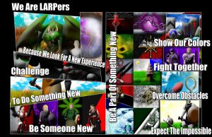 We Are LARPers by Siphen0