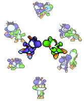 Yoshi VS Boshi by Legend-tony980