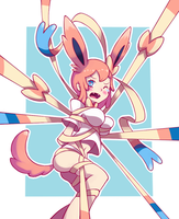 Sylveon by limb92