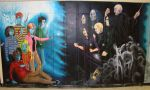 Harry Potter Locker Mural by GothicSky