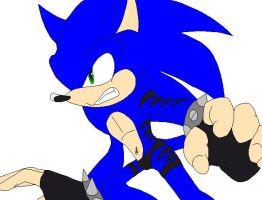 Sonic The Hedgebeast in Sonic's Colors - 3 by AirSharkSquad
