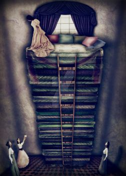 The Princess and the Pea by TheMironist