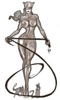Catwoman F. by Humanis