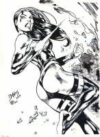 Psylocke Ink - Ed Benes - Egli by SurfTiki