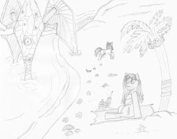 Shores of Southsun by AbysmalAegis