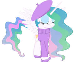 French Princess Celestia by cool77778