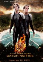 The Hunger Games: Catching Fire - Fan poster by marty-mclfy