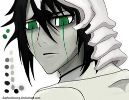 Ulquiorra -Painted- by karlarei2003