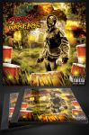 Chemical Warfare Mixtape CD Cover Template by MadFatSkillz
