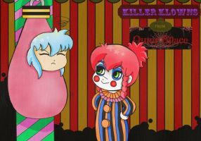Killer Klowns from Outer Space by Dessabelle