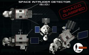 Space Intruder Detector (S.I.D.) ortho by unusualsuspex